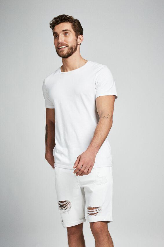 Roller Short, THRASHED WHITE