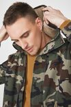 Military Jacket, CAMO