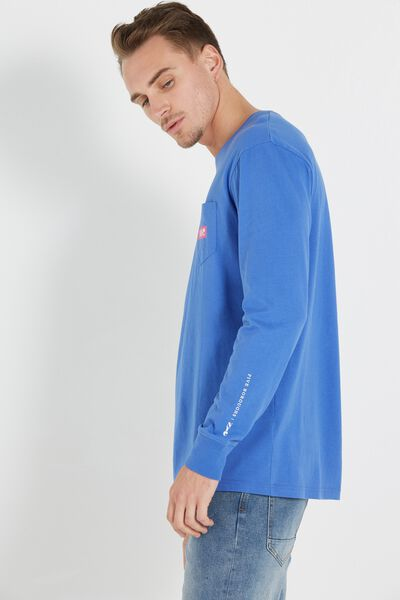 Tbar Long Sleeve, ULTRA BLUE/NYC BOROUGHS