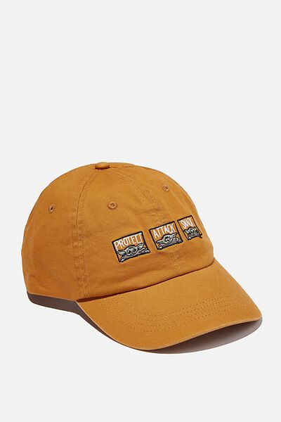 Special Edition Dad Hat, LCN DIS GOLD/MANDALORIAN PROTECT