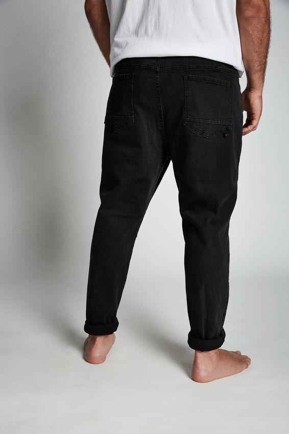 Bg Tapered Leg Jean, WORN IN BLACK