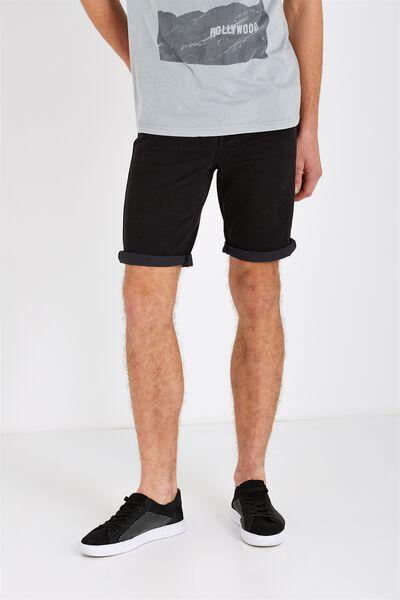 Roller Short, RIGID WORN BLACK
