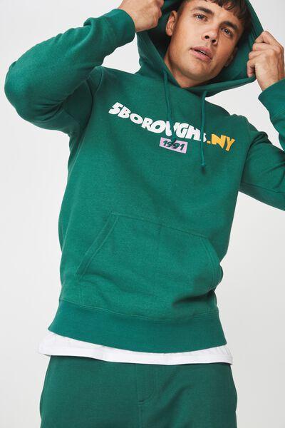 Fleece Pullover 2, POSY GREEN/5 BOROUGHS