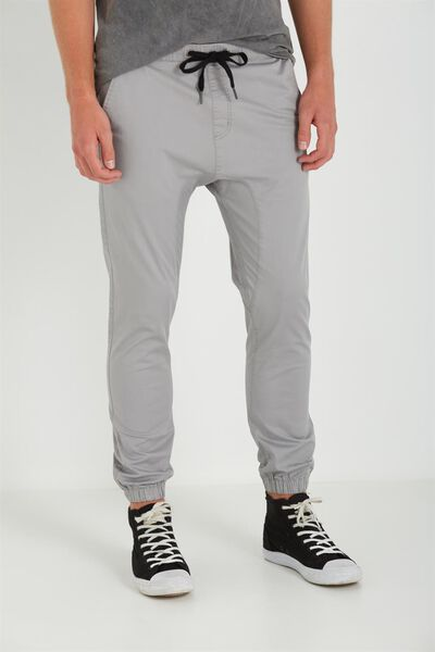 Drake Cuffed Pant, STEEL GREY