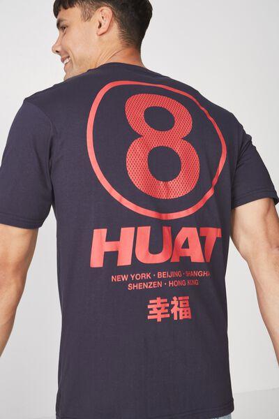 Tbar Tee 2, TRUE NAVY/ CNY HUAT