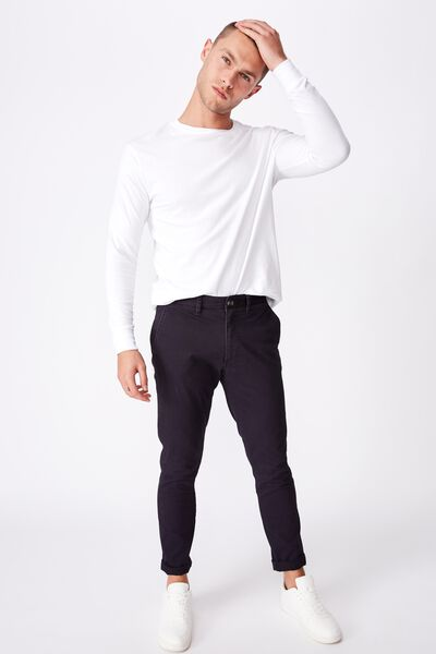 Skinny Stretch Chino, NAVY