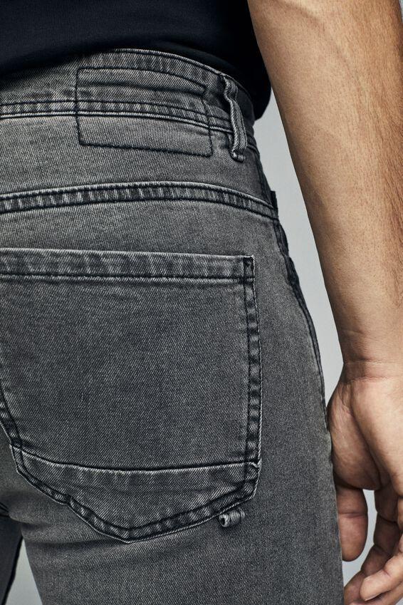 Super Skinny Jean, UNDERTOW BLACK + RIPS