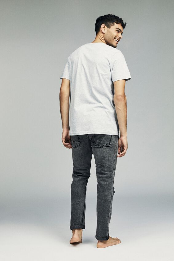 Tapered Leg Jean, ELEMENT GREY