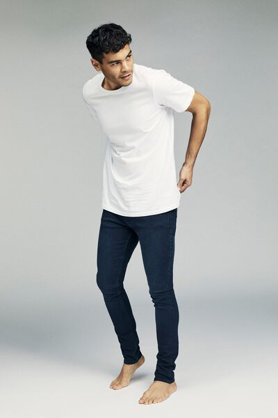Super Skinny Jean, OPTIC BLUE