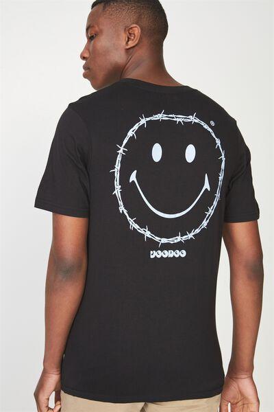 Tbar Tee 2, BLACK/VOODOO SMILE