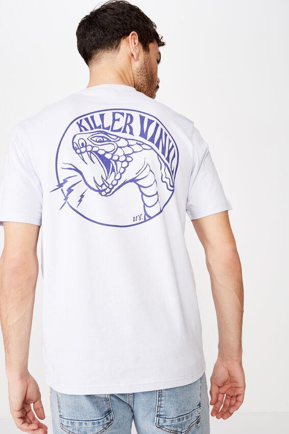 Tbar Art T-Shirt, SK8 PEARLWINKLE/KILLER VINYL