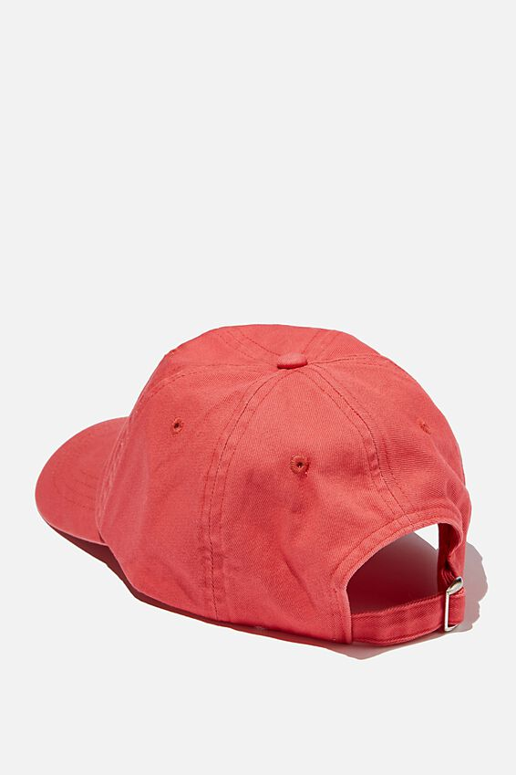 Special Edition Dad Hat, LCN COKE LOGO/WASHED RED