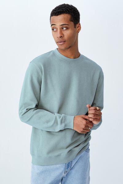 Essential Crew Fleece, MINERAL BLUE