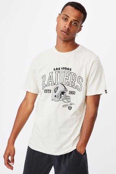 Active Nfl T-Shirt, LCN NFL BONE/RAIDERS-HELMET