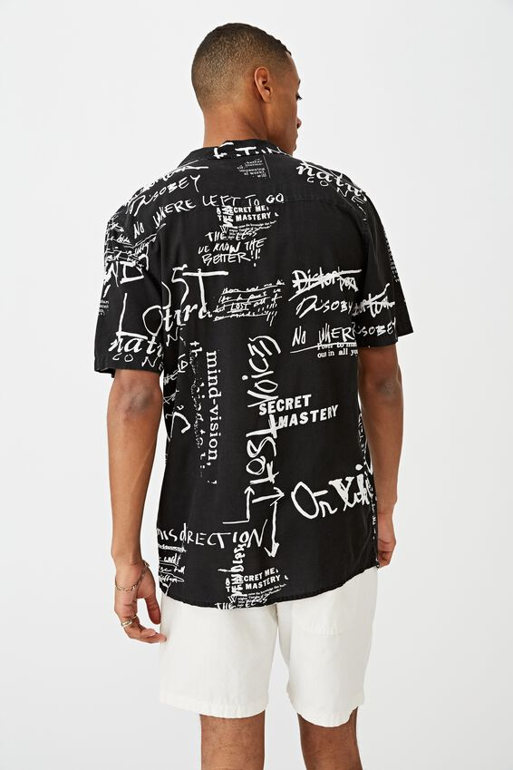 Short Sleeve Street Shirt, PUNK ART