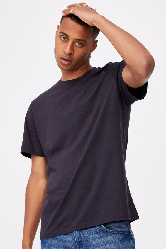 Essential Crew T-Shirt, INK NAVY