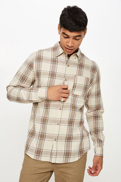 Brunswick Shirt 3, NATURAL BOLD CHECK