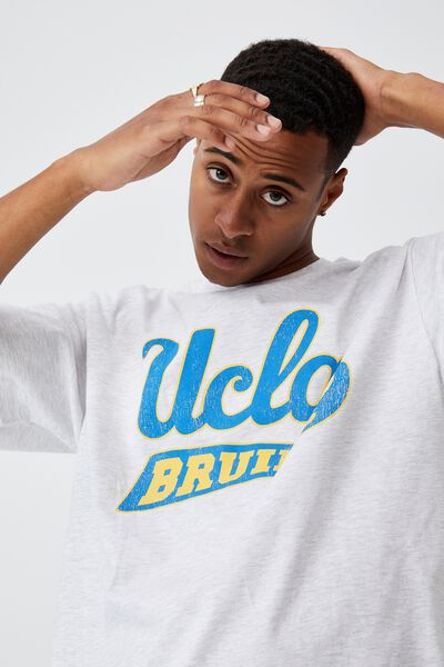 Special Edition T-Shirt, LCN UCL WHITE MARLE/UCLA - BRUINS