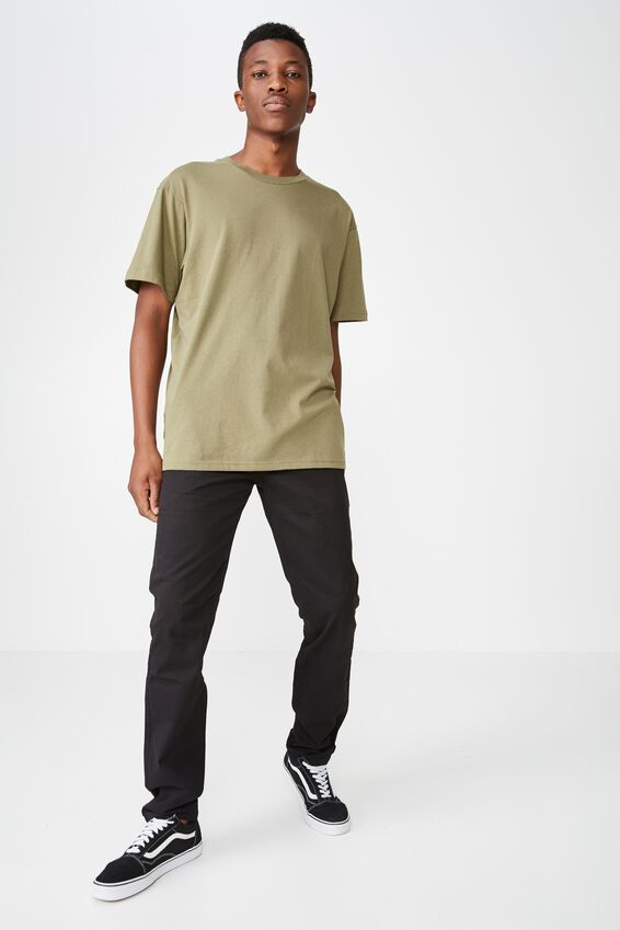 Knox Chino Pant, BLACK