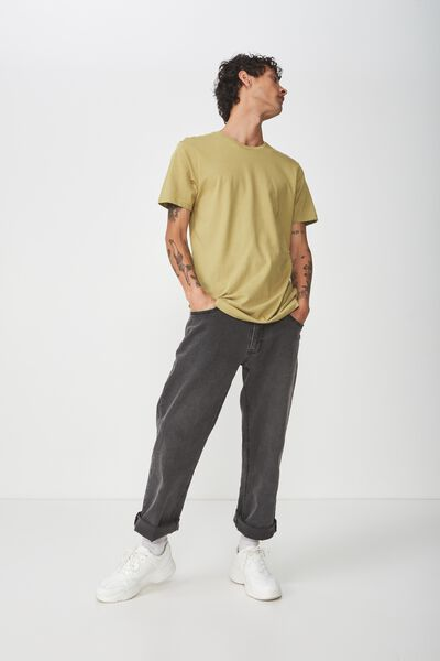 Essential Crew Tee, CHARTREUSE