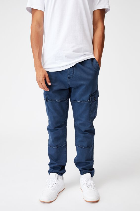 Military Cargo Pant, WASHED NAVY