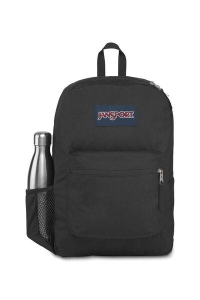 Jansport Cross Town Backpack, BLACK