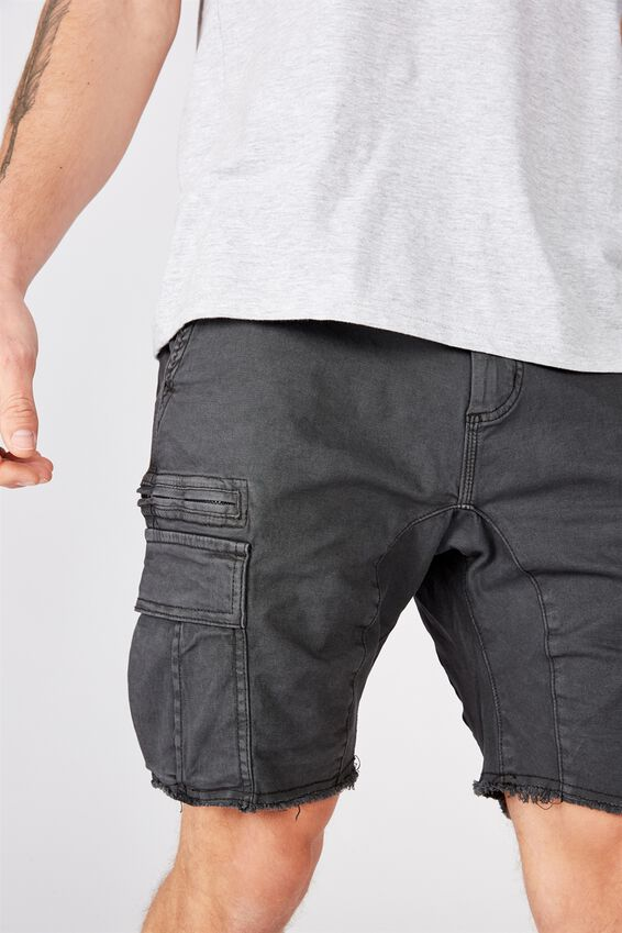 Utility Cargo Short, DUSTER BLACK