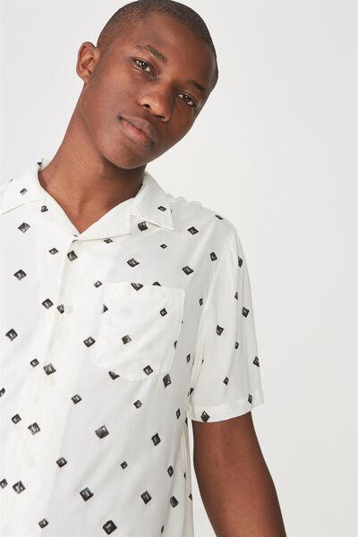 91 Short Sleeve Shirt, DIAMOND GEO
