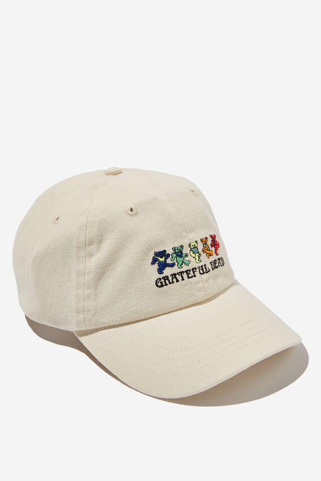 Special Edition Dad Hat, LCN GRE VINTAGE WHITE/GRATEFUL DEAD BEARS