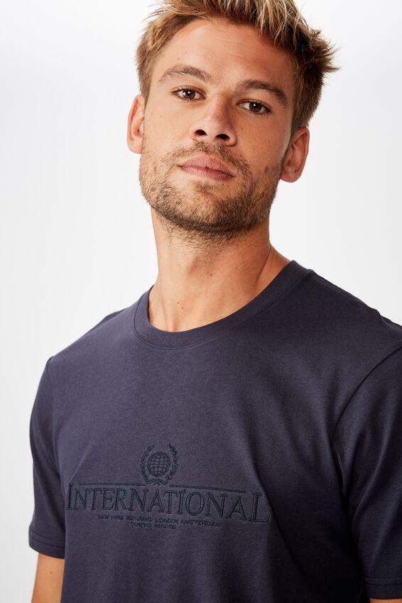 Tbar Cny T-Shirt, TRUE NAVY/INTERNATIONAL CREST