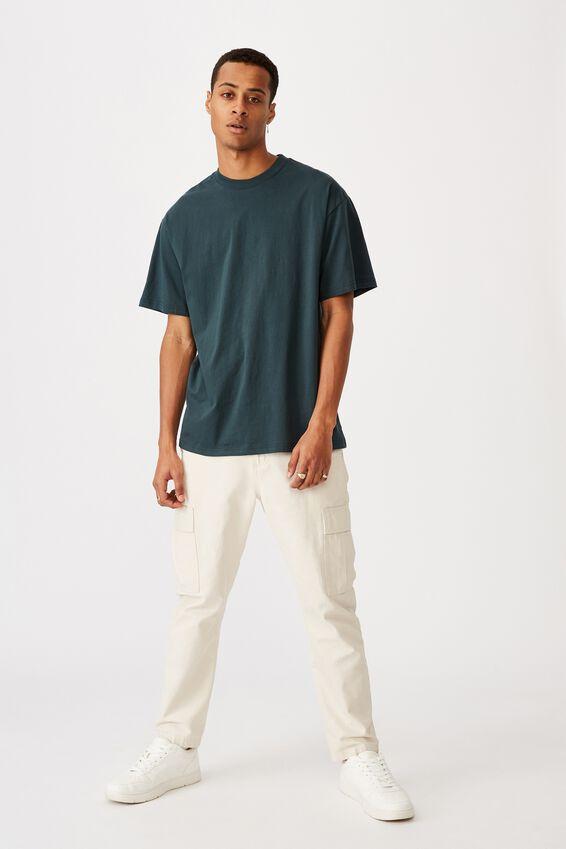 Essential Skate T-Shirt, DEEP SEA TEAL