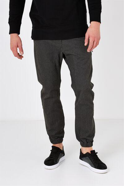 Customised Drake Cuffed Pant, STREET GREY #23