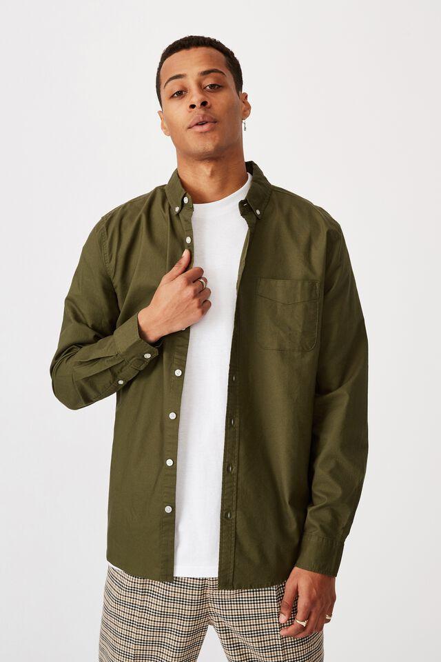 Brunswick Shirt 3, MOSS GREEN