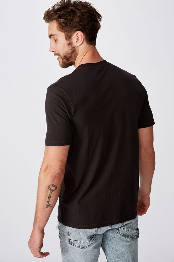 Tbar Art T-Shirt, SK8 WASHED BLACK/SK8