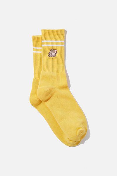 Special Edition Active Sock, LCN PUSH TONAL PEACH/PUSHEEN FLAMINGO