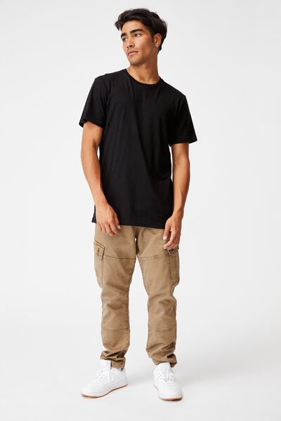 Military Cargo Pant, WASHED GRAVEL STONE
