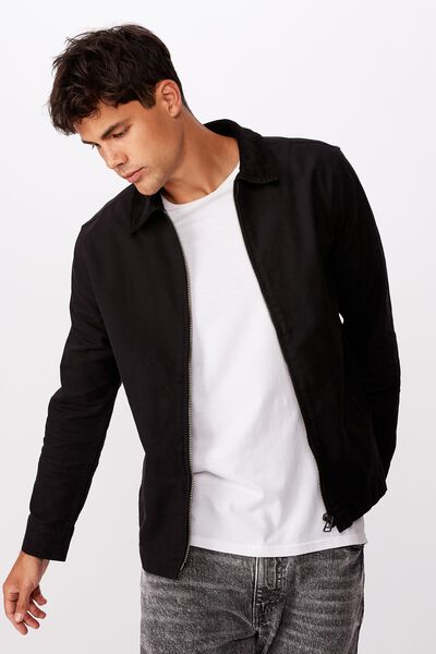 Workwear Jacket, BLACK