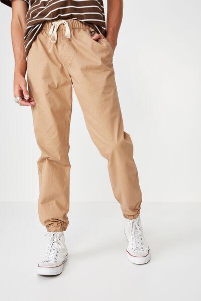 Drake Cuffed Pant, STONE POCKET HERRINGBONE