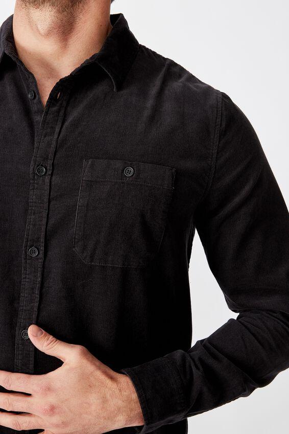 Festival Long Sleeve Shirt, BLACK