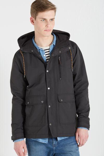 Woodsman Jacket, BLACK