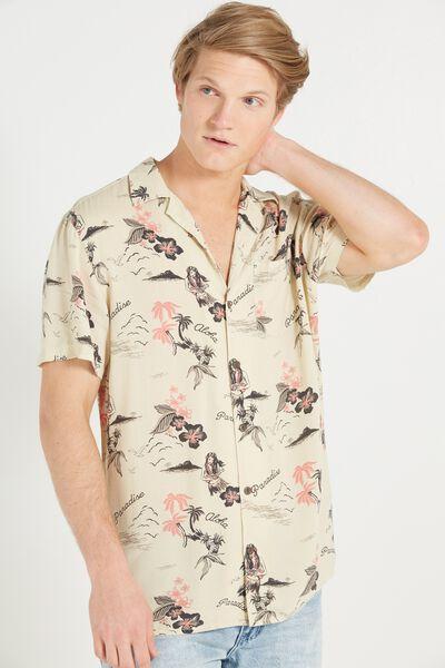91 Short Sleeve Shirt, HULA SLIM