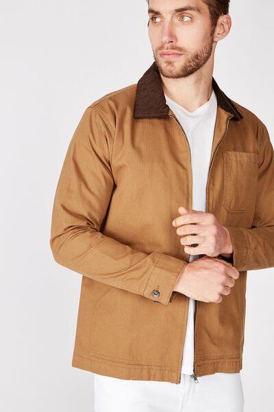 Worker Jacket, TAN
