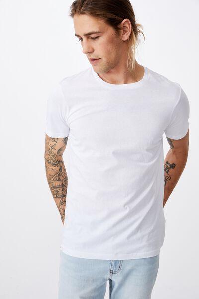 Essential Crew T-Shirt, WHITE