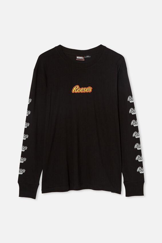 Tbar Collab Long Sleeve T-Shirt, LCN HER BLACK/REESE S - LOGO