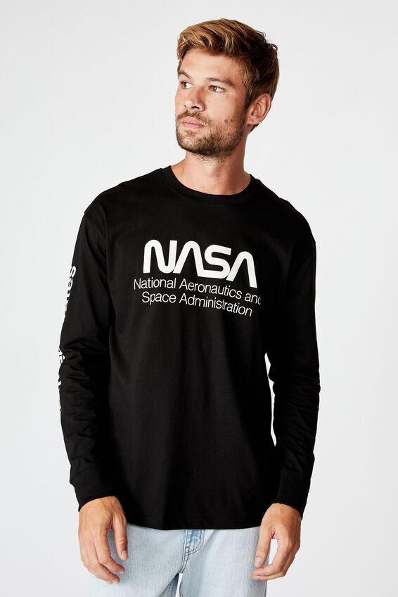 Tbar Collab Ls Tee, LCN NAS BLACK/NASA - SPACE ADMINISTRATION