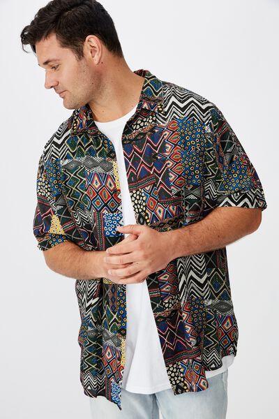 Bg 91 Short Sleeve Shirt, STATEMENT TRIBAL