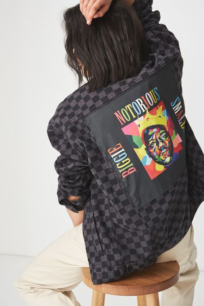 Rodeo Collaboration Jacket, BIGGIE SMALLS/CHECKA