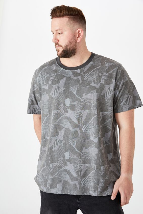 Bg Festival Tee, TONAL TRIBAL MASH UP