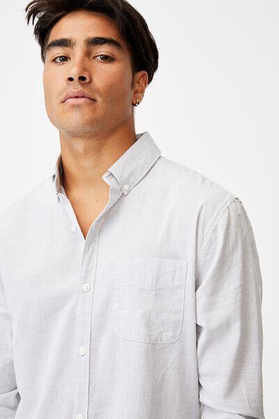 Brunswick Shirt 3, TEXTURED GREY