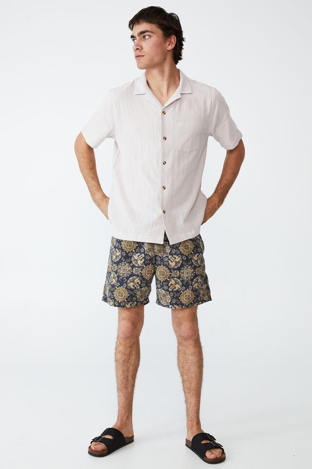 Riviera Short Sleeve Shirt, PINK DUST